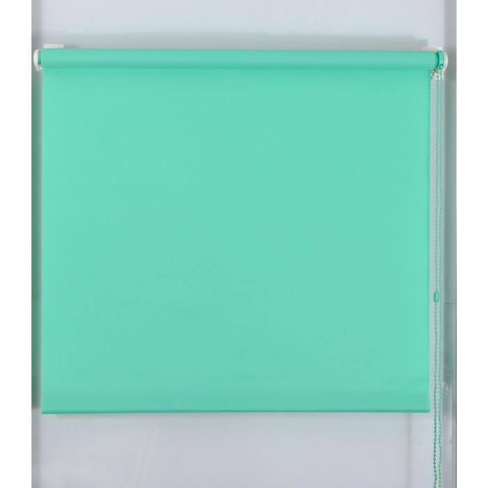 Рулонная штора «Простая MJ» 100х160 см, цвет малахит