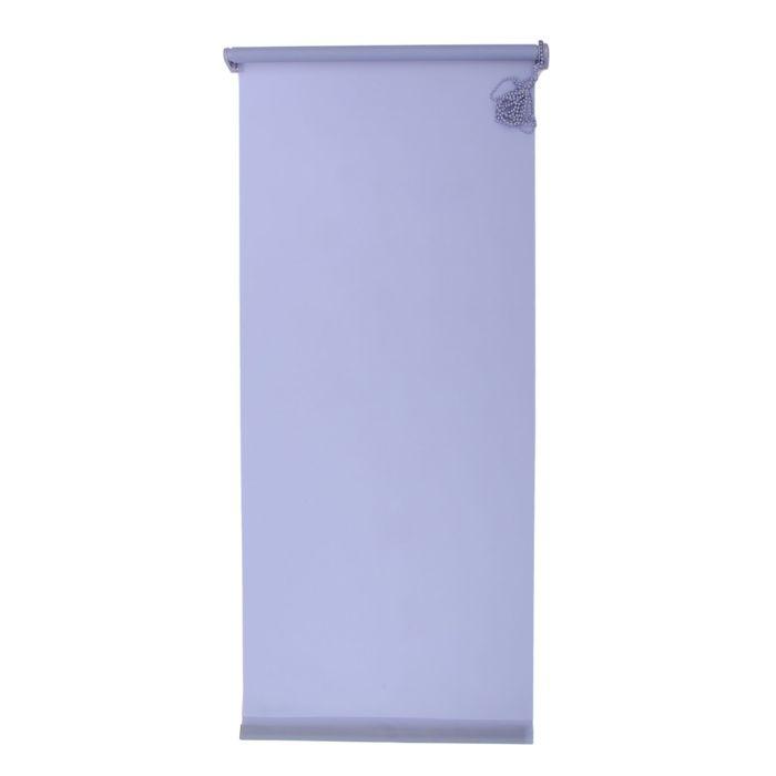 """Штора-ролет 140x160 см """"Комфортиссимо"""", цвет серо-голубой"""