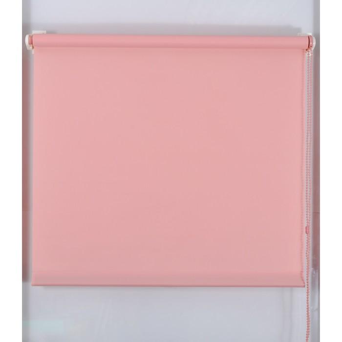 Рулонная штора «Простая MJ» 110х160 см, цвет темно-розовый