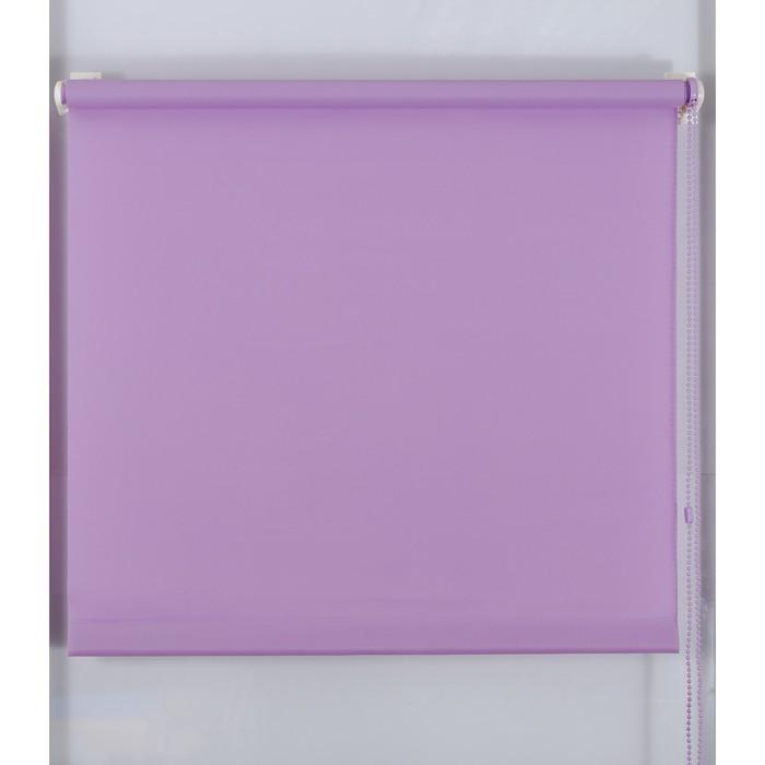 Рулонная штора «Простая MJ» 110х160 см, цвет лаванда