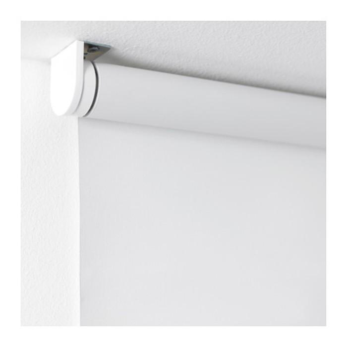 Штора рулонная ТУППЛЮР, размер 80х195 см, цвет белый