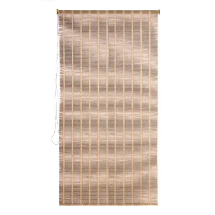Штора рулонная, бамбук 80х160 см