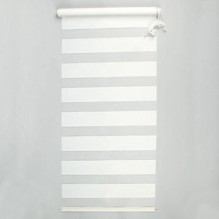 """Ролет-штора 50х160 см """"День и Ночь"""", цвет белый"""