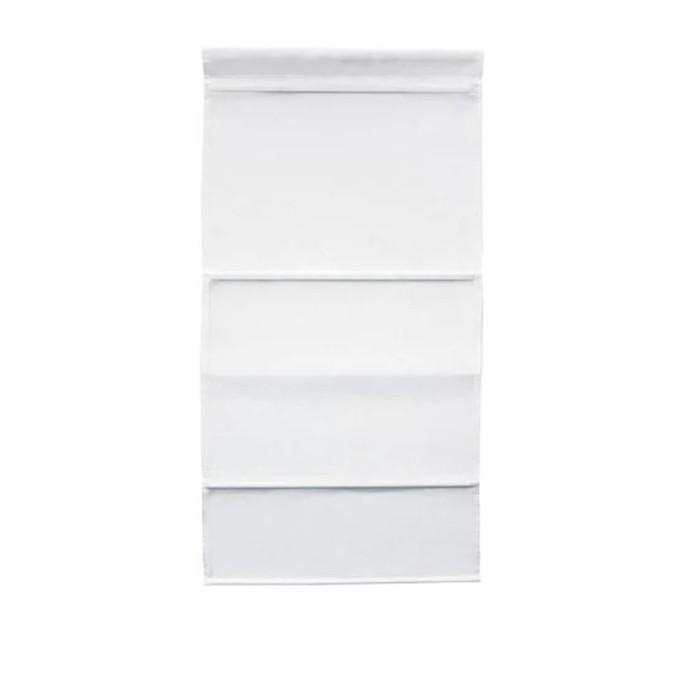 Римская штора РИНГБЛУММА, размер 80х160 см, цвет белый