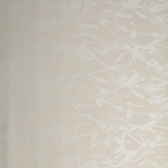 """Штора рулонная 100х175 см """"Блэкаут. Жаккард. Муар"""", цвет бежевый"""