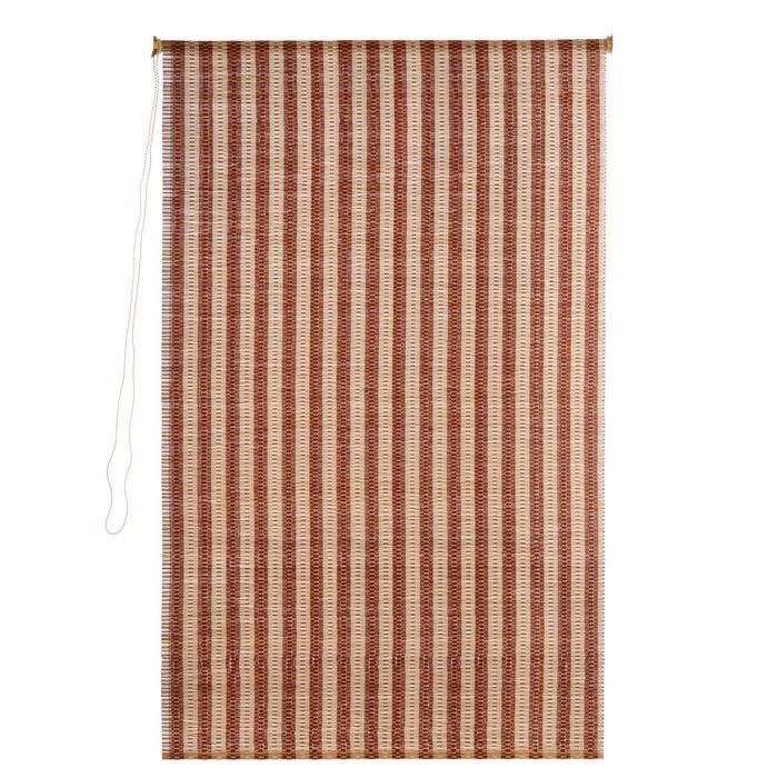Штора рулонная, бамбук 100х160 см