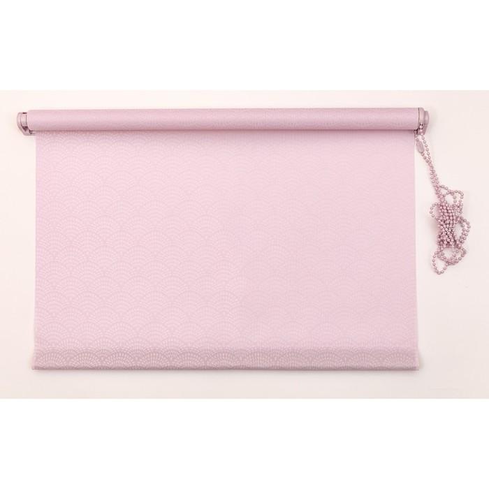 Рулонная штора «Дольче Вита» 120х160 см, цвет букет сирени