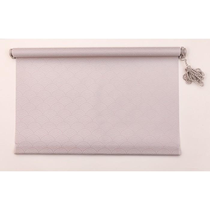 Рулонная штора «Дольче Вита» 120х160 см, цвет серый лед