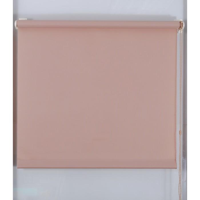 Рулонная штора «Простая MJ» 120х160 см, цвет какао