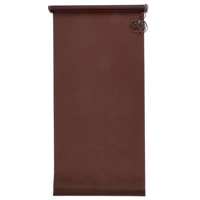 """Штора-ролет 60х160 см """"Комфортиссимо"""", цвет шоколадный"""