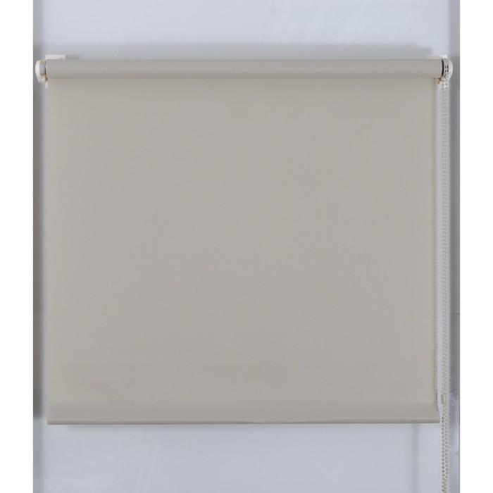 Рулонная штора «Простая MJ» 130х160 см, цвет серый