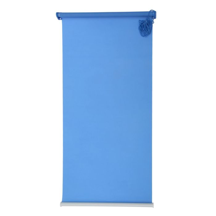 "Штора-ролет 60x160 см ""Комфортиссимо"", цвет синий"
