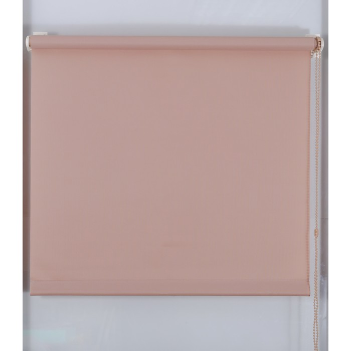 Рулонная штора «Простая MJ» 130х160 см, цвет какао