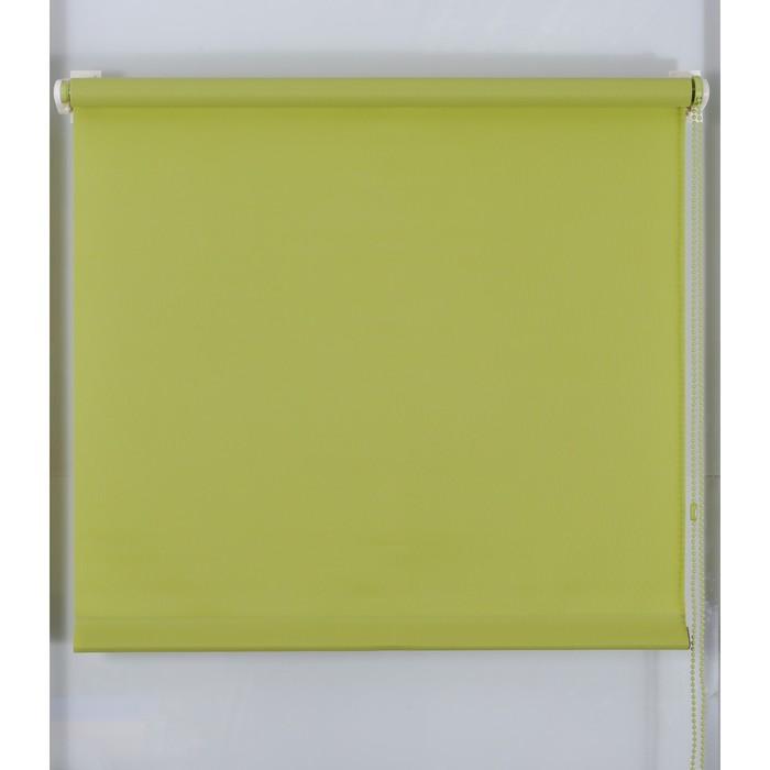 Рулонная штора «Простая MJ» 130х160 см, цвет оливковый