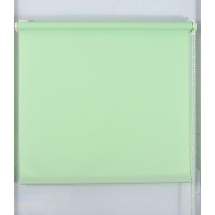 Рулонная штора «Простая MJ» 130х160 см, цвет зеленое яблоко