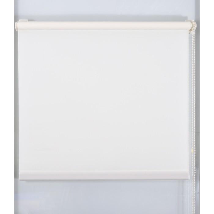 Рулонная штора «Простая MJ» 130х160 см, цвет ваниль