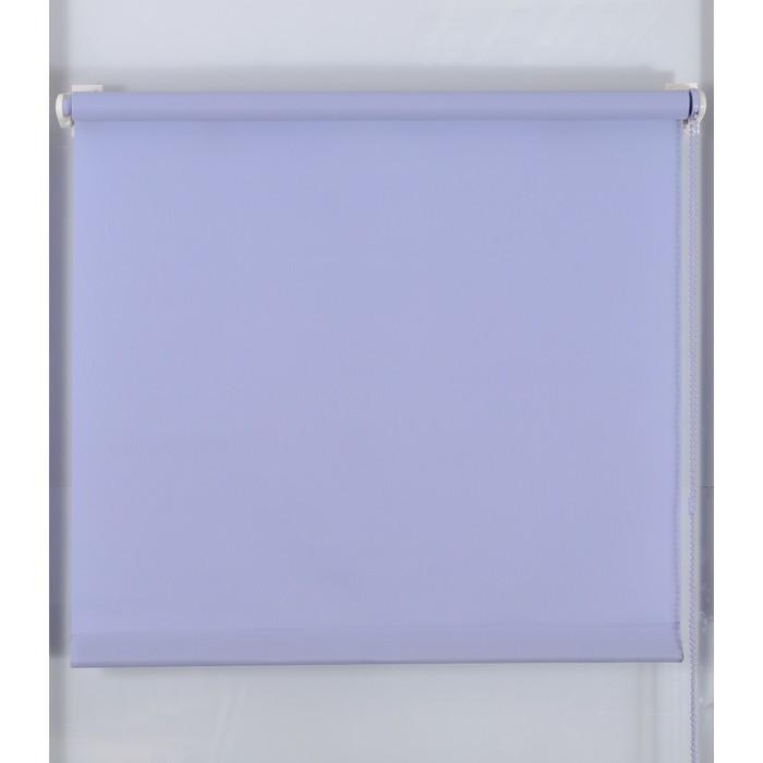 Рулонная штора «Простая MJ» 130х160 см, цвет серо-голубой