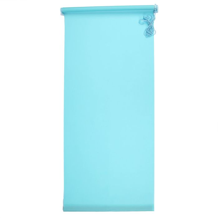 "Штора-ролет 60х160 см ""Комфортиссимо"", цвет голубой"