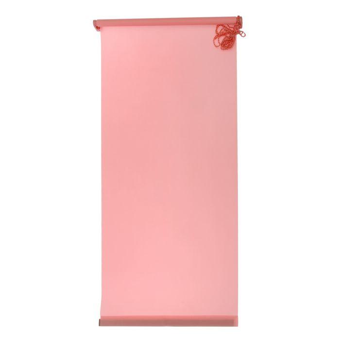"""Штора-ролет 60x160 см """"Комфортиссимо"""", цвет розовый"""