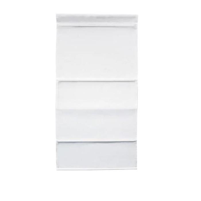 Римская штора РИНГБЛУММА, размер 120х160 см, цвет белый