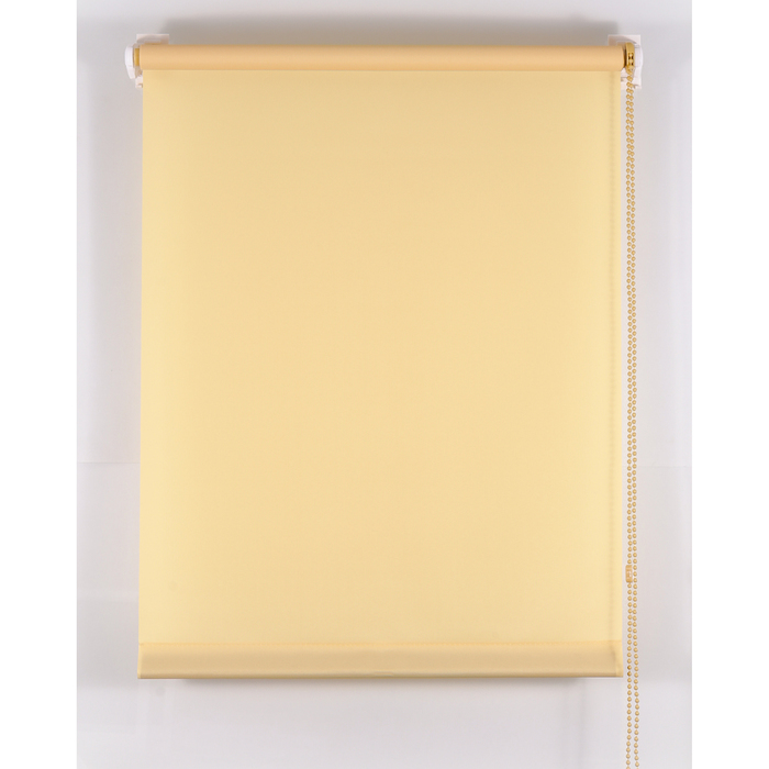 Рулонная штора «Комфортиссимо» 220х160 см, цвет ваниль