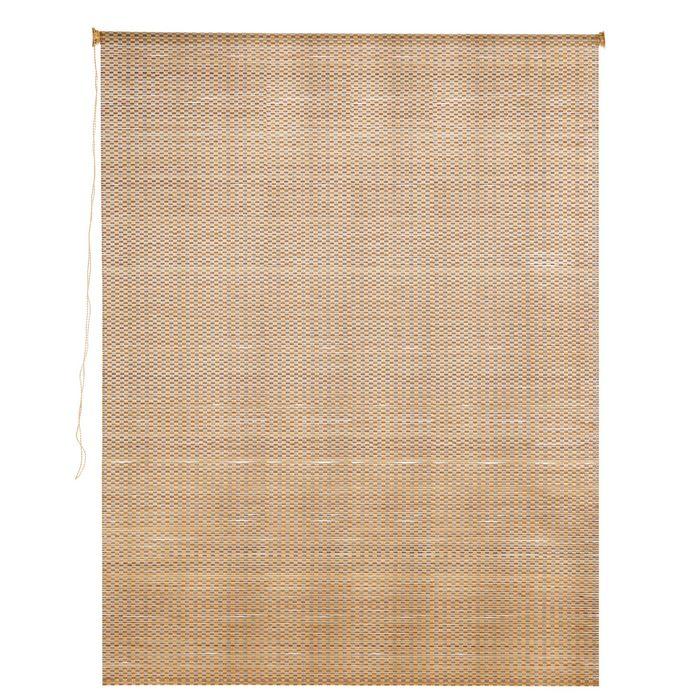Штора рулонная, бамбук 120х160 см