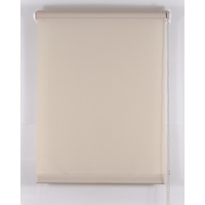 Рулонная штора «Комфортиссимо» 40х160 см, цвет серый