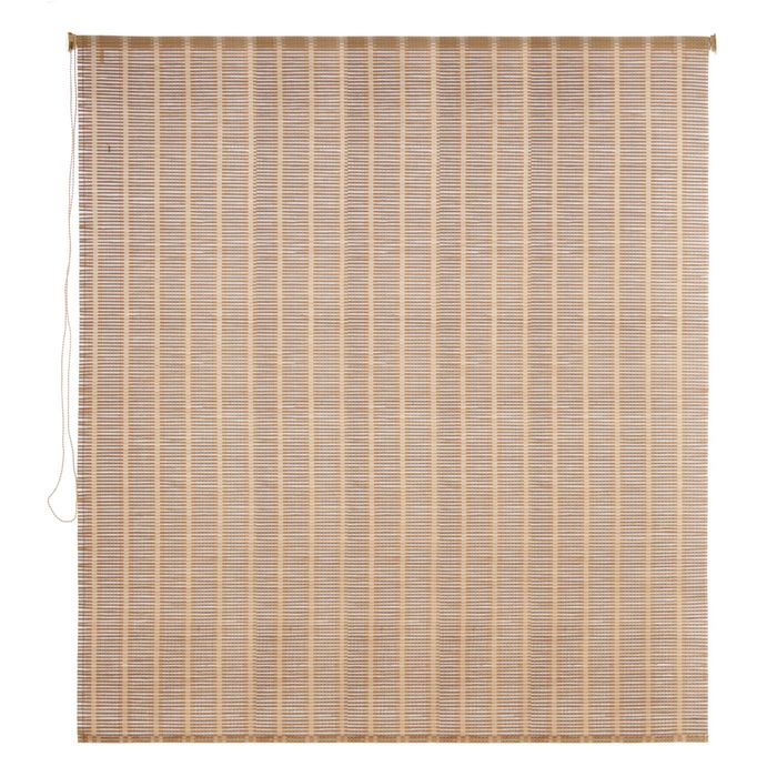 Штора рулонная, бамбук 140х160 см