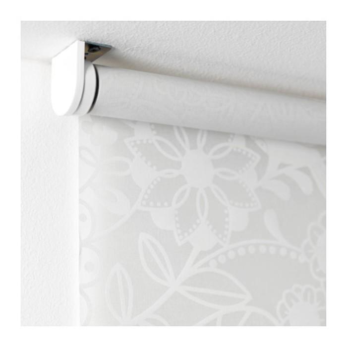 Штора рулонная ЛИСЕЛОТТ, размер 160х195 см, цвет белый