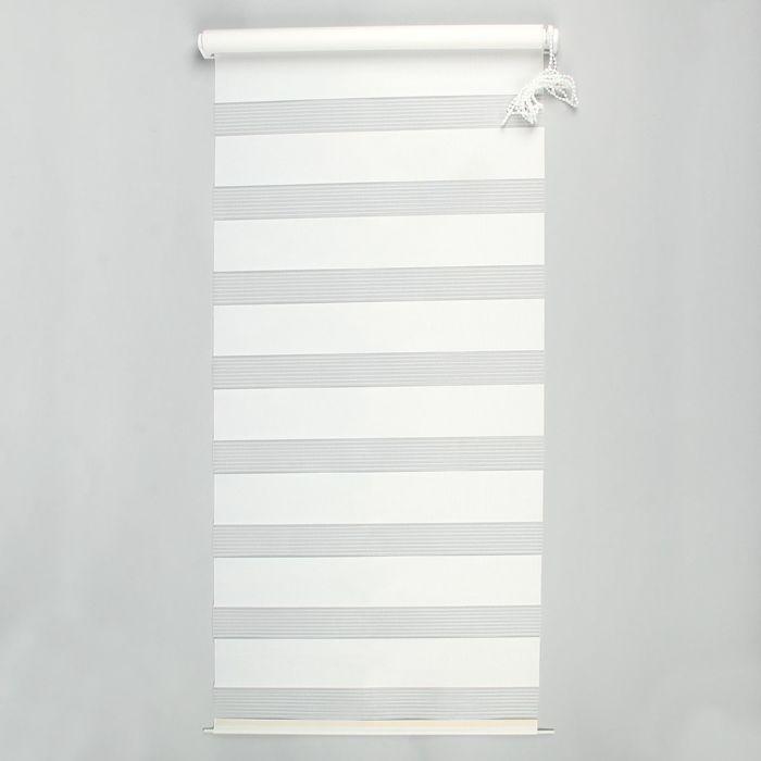 """Ролет-штора 100х160 см """"День и Ночь"""", цвет белый"""