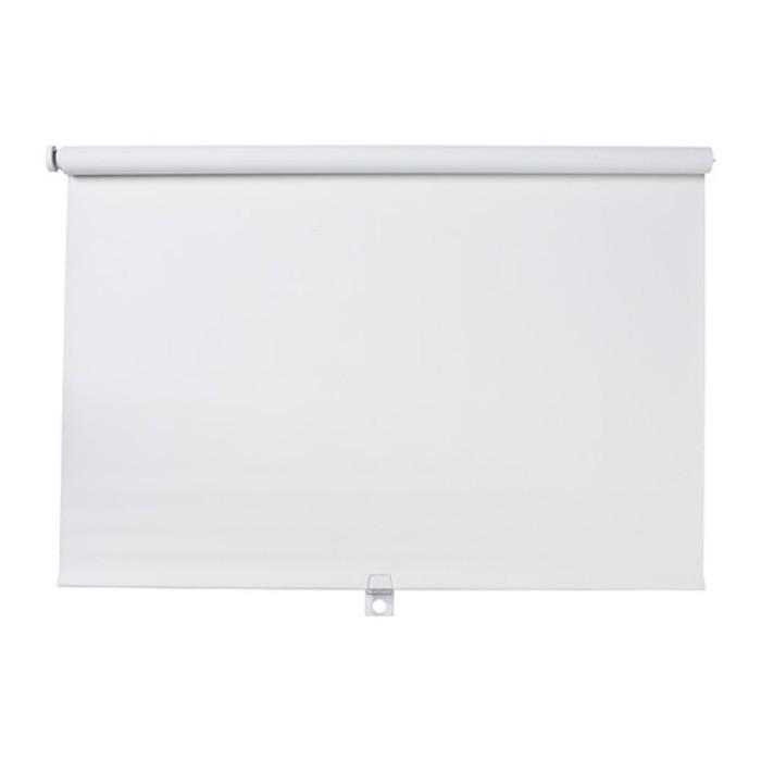 Штора рулонная ТУППЛЮР, размер 180х195 см, цвет белый