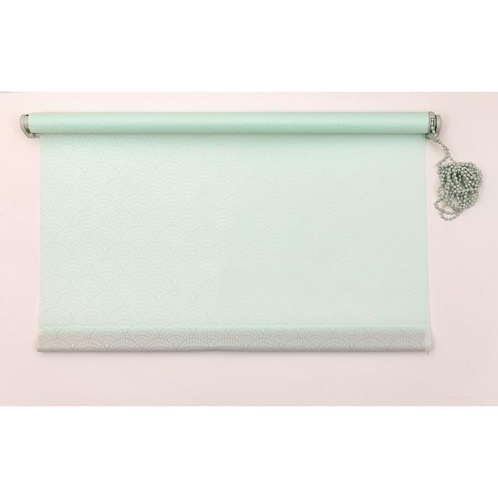 Рулонная штора «Дольче Вита» 180х160 см, цвет нежная мята