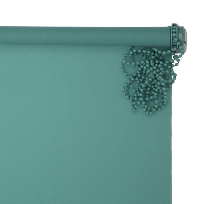 """Штора-ролет 60x160 см """"Комфортиссимо"""", цвет зелёный"""