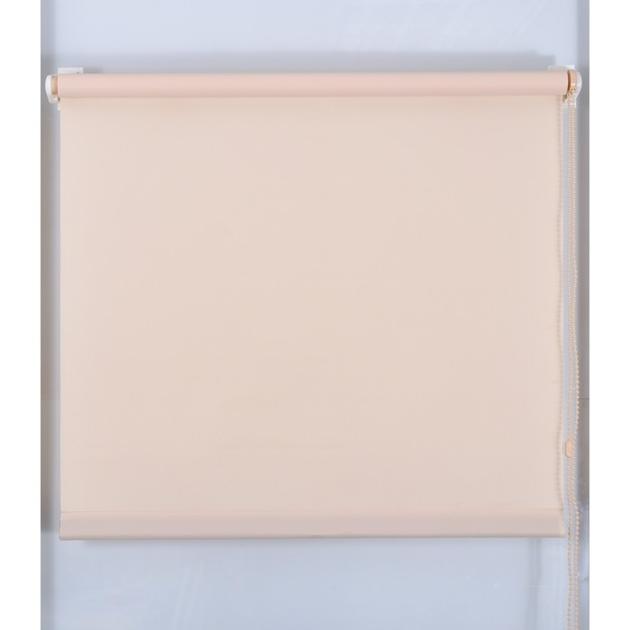 Рулонная штора «Простая MJ» 190х160 см, цвет персик