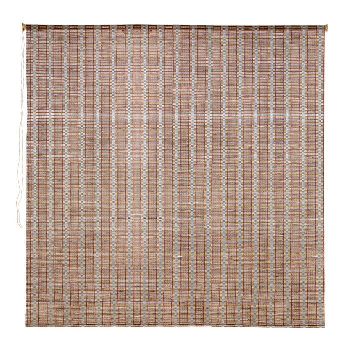 Штора рулонная, бамбук 160х160 см