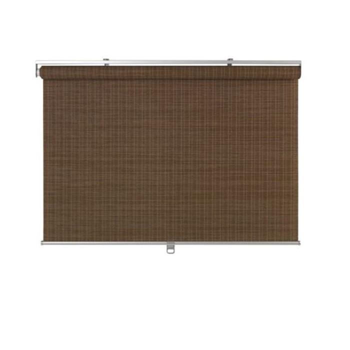 Рулонная штора БУСКТОФФЕЛЬ, размер 100х195 см, цвет тёмно-коричневый