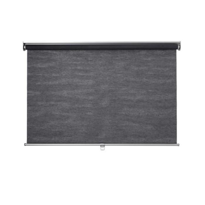 Рулонная штора СКОГСКЛЁВЕР, размер 120х195 см, цвет серый