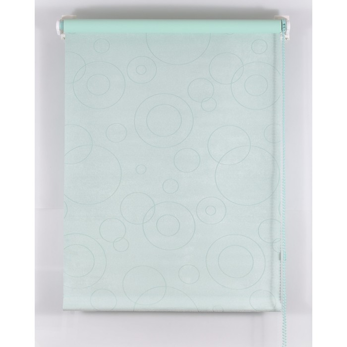 Рулонная штора Blackout 200х160 см, имитация замши «замша», цвет светло-зеленый
