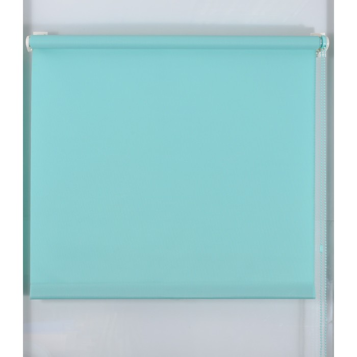 Рулонная штора «Простая MJ» 220х160 см, цвет бирюза
