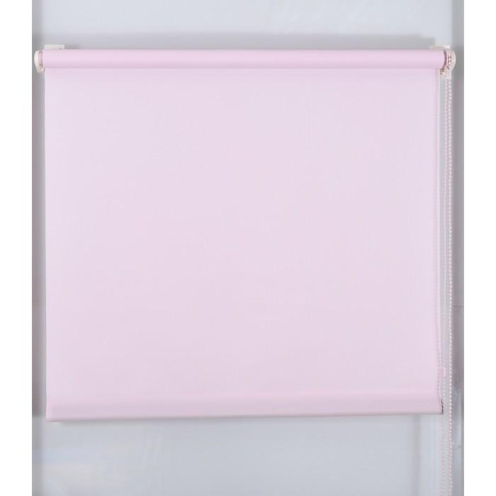 Рулонная штора «Простая MJ» 220х160 см, цвет фламинго