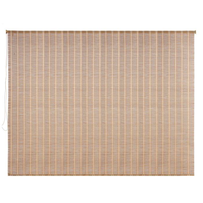 Штора рулонная, бамбук 200х160 см