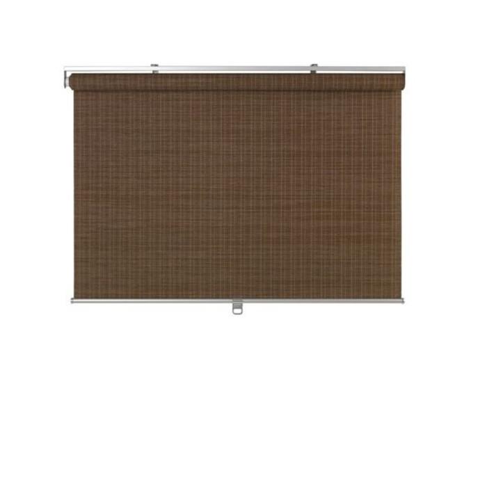 Рулонная штора БУСКТОФФЕЛЬ, размер 120х195 см, цвет тёмно-коричневый