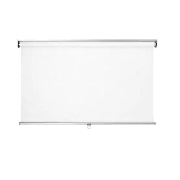 Рулонная штора СКОГСКЛЁВЕР, размер 140х195 см, цвет белый