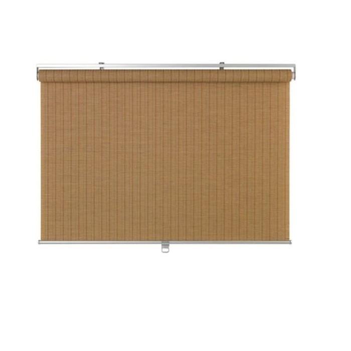 Рулонная штора БУСКТОФФЕЛЬ, размер 120х195 см, цвет светло-коричневый