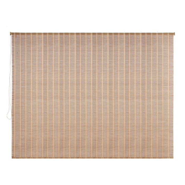Штора рулонная, бамбук 220х160 см