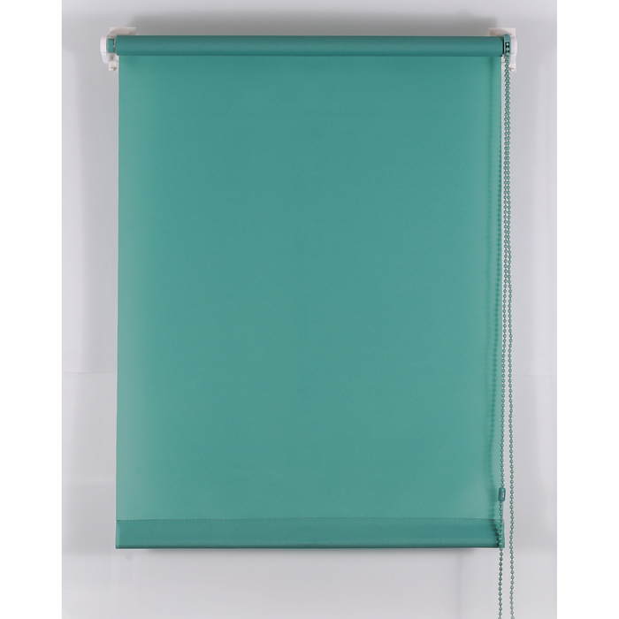Рулонная штора «Комфортиссимо» 40х160 см, цвет зелёный