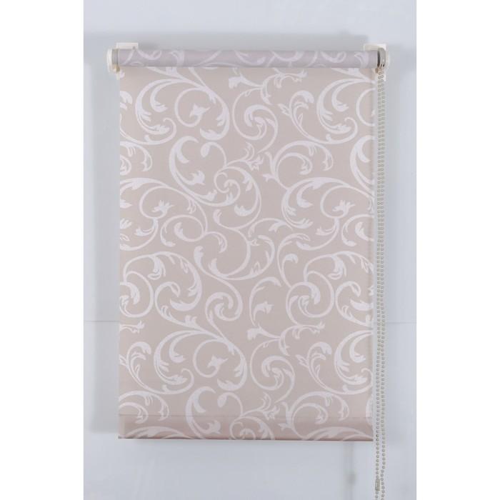 Рулонная штора «Англетер» 40х160 см, цвет серый