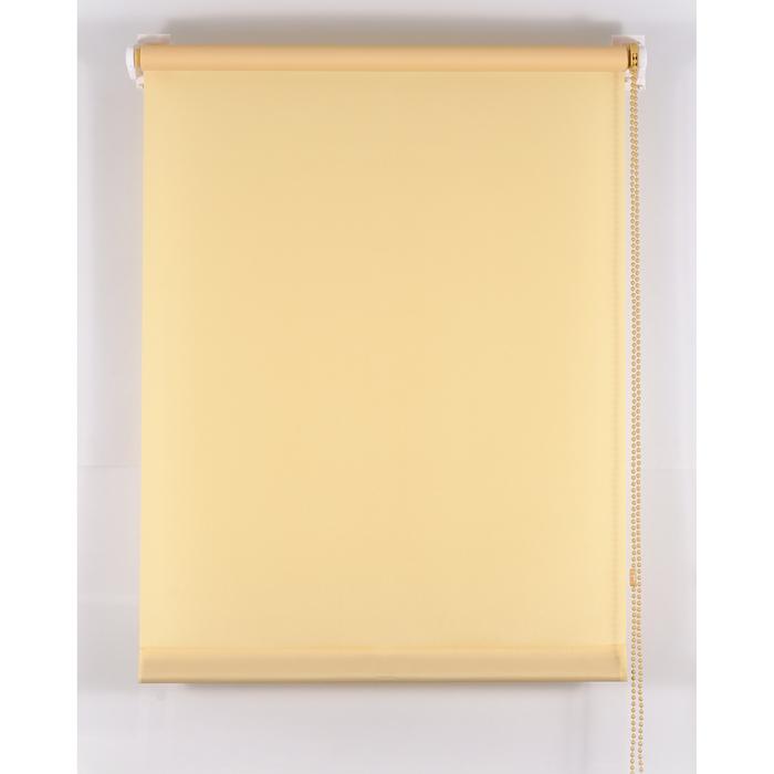 Рулонная штора «Комфортиссимо» 65х160 см, цвет ваниль