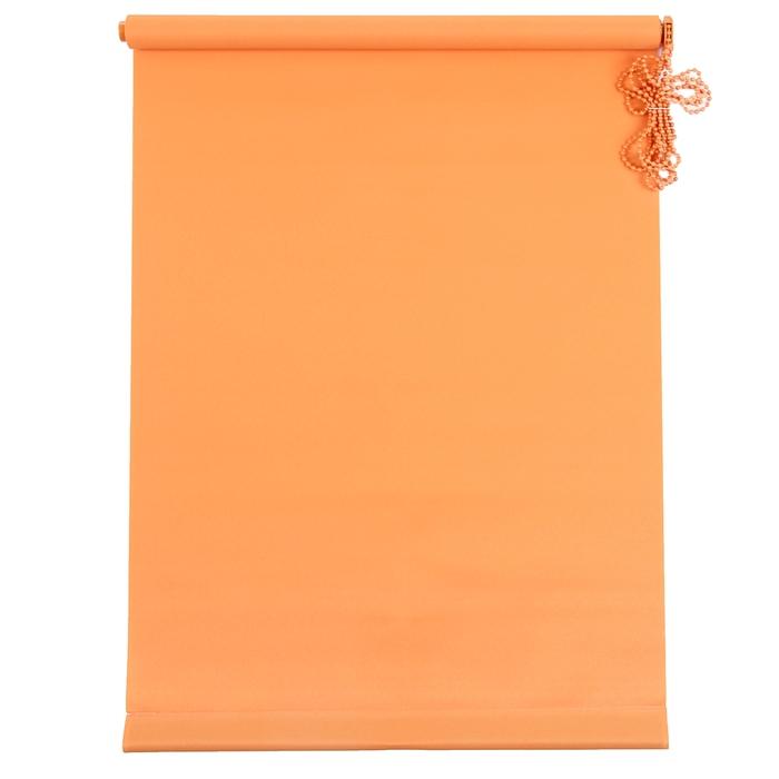 Штора рулонная MJ 50х160 см, цвет оранжевый