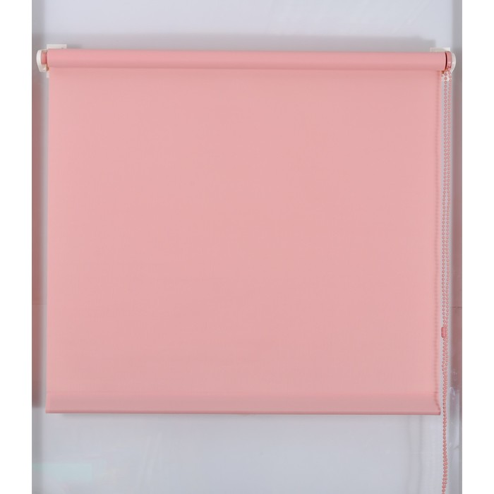 Рулонная штора «Простая MJ» 50х160 см, цвет темно-розовый